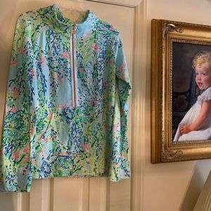 Lilly Pulitzer Blue Heaven Popover, size XL